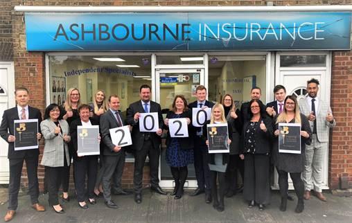 Hoddesdon based Ashbourne Insurance proud sponsor of the Inspiring Herts Business Awards 2020